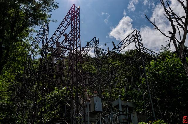 「変電設備」 三笠市幌内 - 北海道