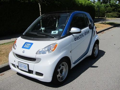 Smart EV front off