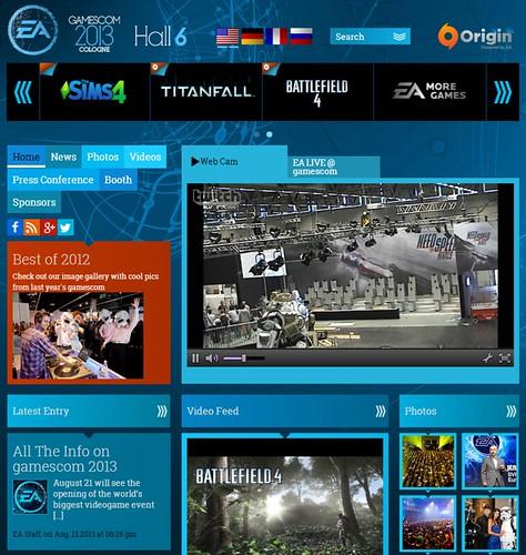 EAs Gamescom