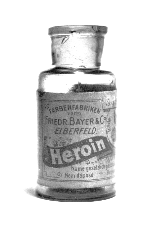 Bayer Heroin bottle