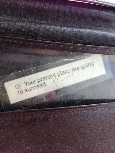Inspirational Wallet Fortune Cookie Fortune