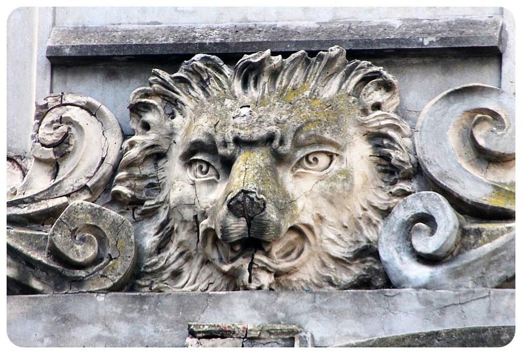 rosario stone lion