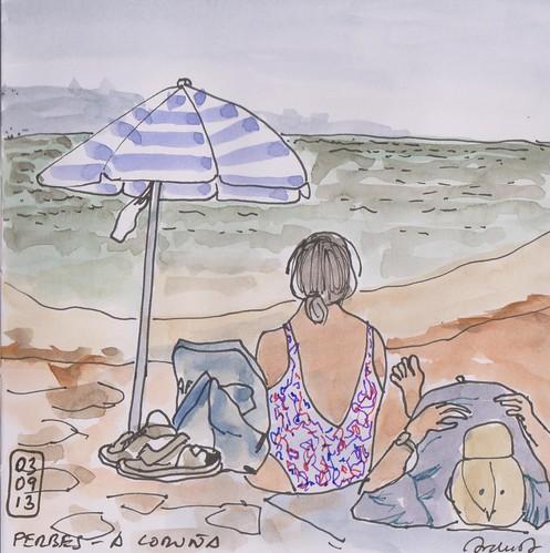 Playa de Perbes - A Coruña