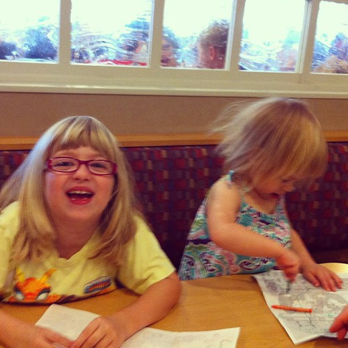IHOP on Sunday. I like these little traditions.