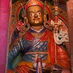 Statue of Guru Rinpoche (Padmasambhava) - Hemis Monastery, Ladakh