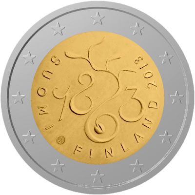 *2 Euro Fínsko 2013, Parlament