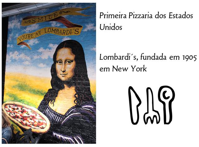 Primeira pizzaria dos Estados Unidos - Lombardi´s