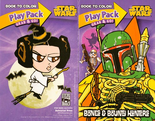 Star Wars Halloween Play Pack - Bones & Bounty Hunters