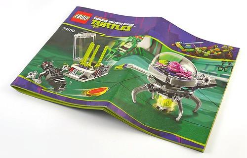 Nickelodeon Teenage Mutant Ninja Turtles LEGO 79100 Kraang Lab Escape 04