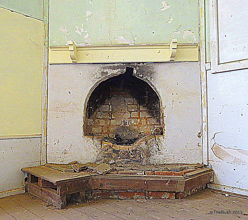 Cundinup School - hearth