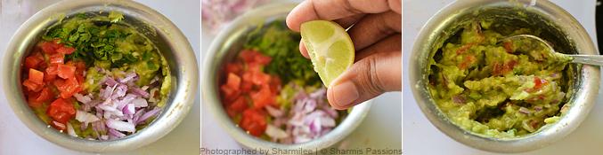 Guacamole Sandwich - Step2