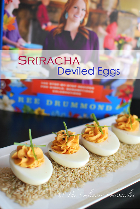 Sriracha Deviled Eggs + The Pioneer Woman Holiday Cookbook GIVEAWAY ...
