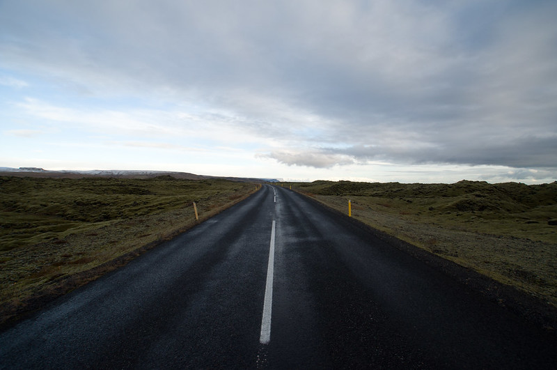Road in nowhere