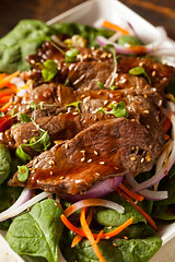 Asian Sliced Beef Salad