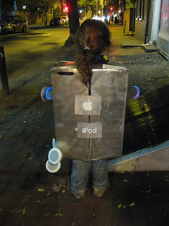 iPod costume, back