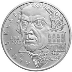 Czech coin Aloys Klar obverse