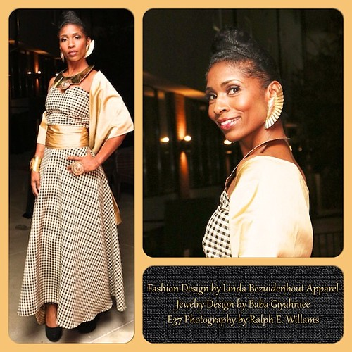 Fashion by Linda Bezuidenhout Apparel Handcrafted Jewelry by Baba Giyahniee Queens ofThe Night Fashion Event #fashion #atlanta #photography by E37 Photography