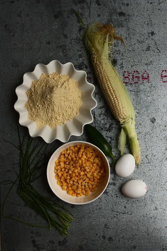 Skillet Cornbread with Jalapenos