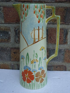 Lovely Large Art Deco Jug By Wadeheath £2 Car Boot Sale Find Summer 2013