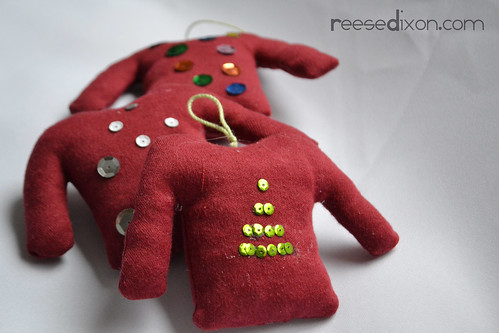 Ugly Christmas Sweater Ornamen Tutorial