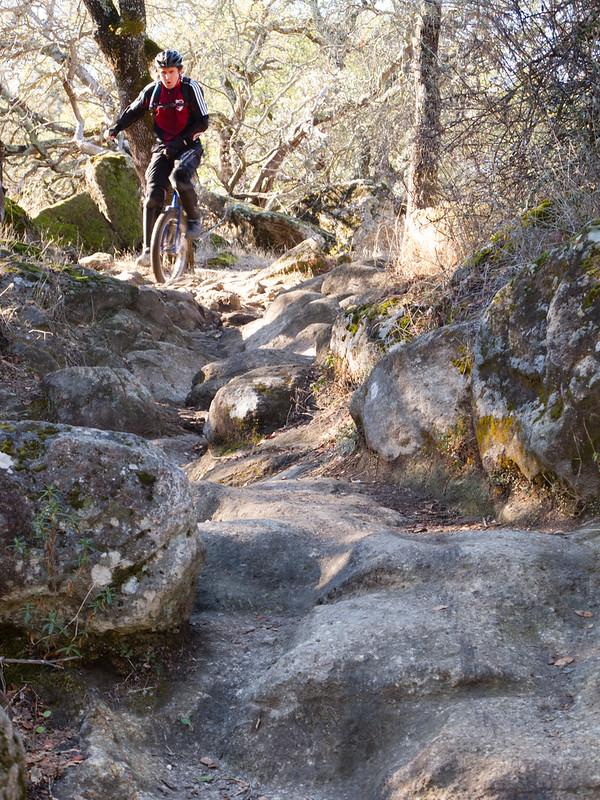 The rock chute