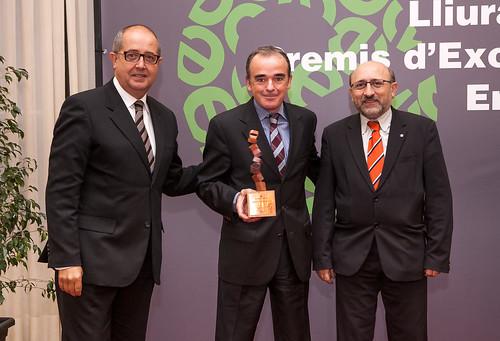 Termosolar Borges recibe el Premio a la Excelencia Energética