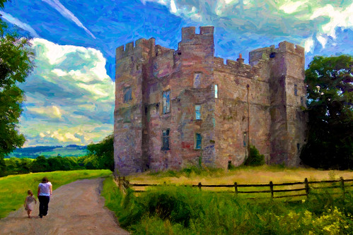 dacre castle by AppleCrypt
