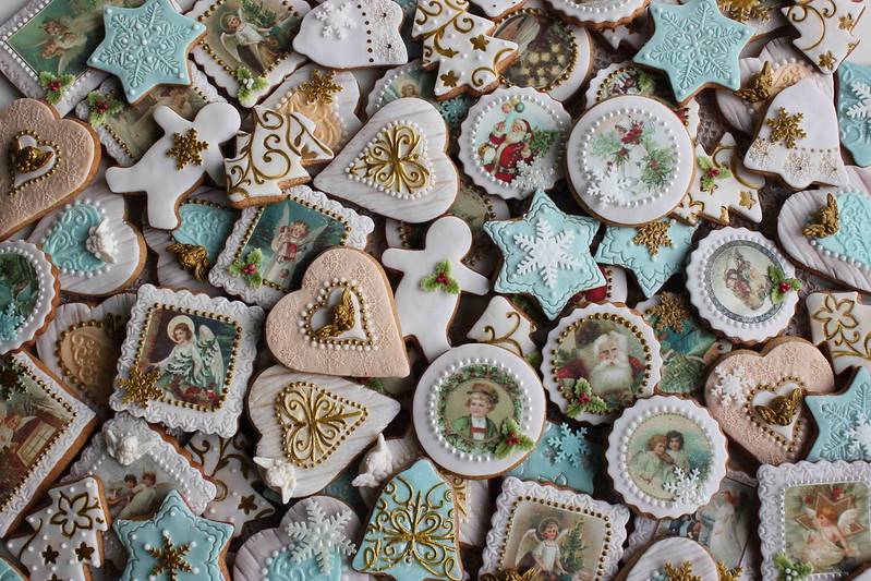 Angel Christmas cookies