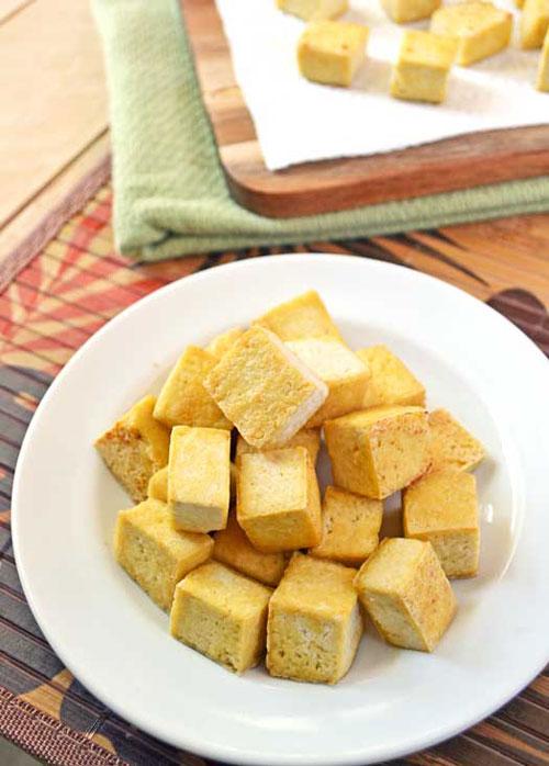 Ultra Crispy Unfried Tofu