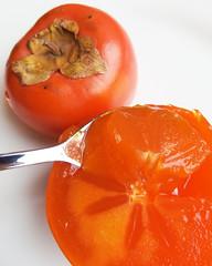 Rijpe sharon fruit