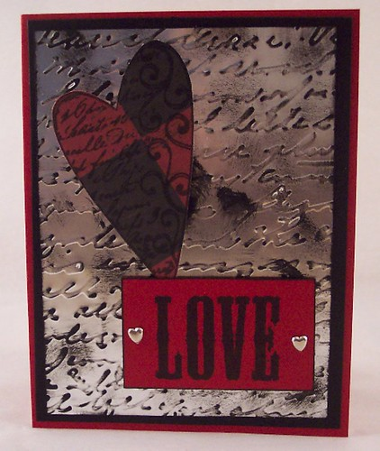 Metal Love Card
