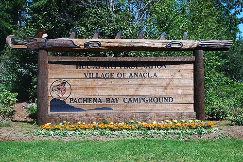 Pachena Bay Campground, Pachena Bay, Bamfield, Vancouver Island, British Columbia