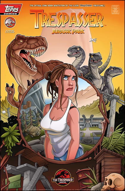 Trespasser Comic