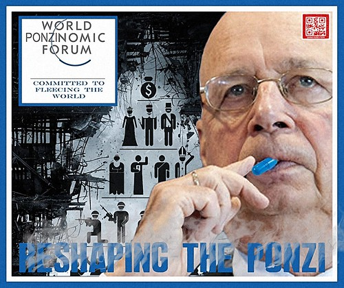 DAVOS 2014-RESHAPING THE PONZI by WilliamBanzai7/Colonel Flick