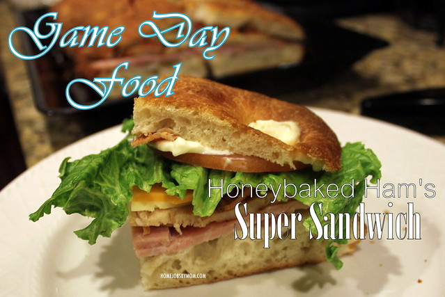 Hassle Free Super Bowl Party Food + #HoneyBakedGameDay Flash Giveaway