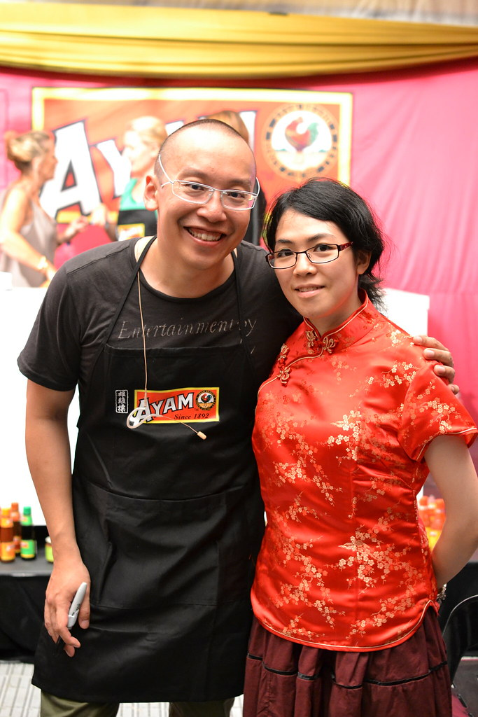 Me with Alvin Quah, from Series 2 Masterchef