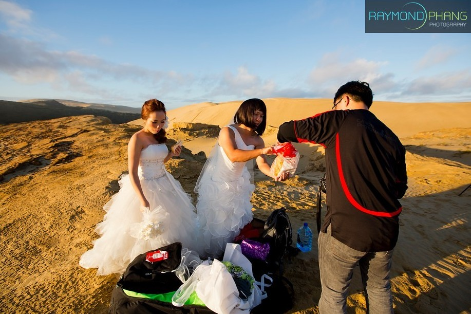 Conceptualised Pre-Wedding Behind the Scene in New Zealand - 04