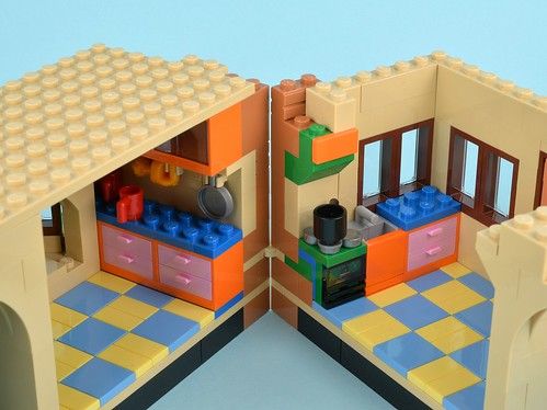Review 71006 The Simpsons House Part 4 Brickset Lego