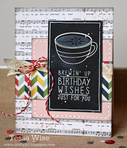 Coffee Chalkboard Card 1