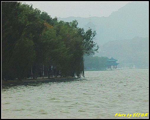 杭州 西湖 (其他景點) - 012 (古湧金門附近景點看西湖上的柳浪聞鶯)