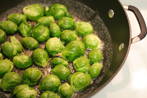 dijon braised brussels sprouts - in this kitchen