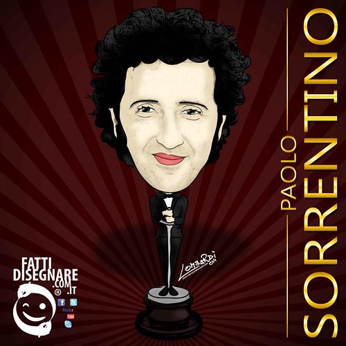 Paolo Sorrentino PREMIO OSCAR by Giuseppe Lombardi