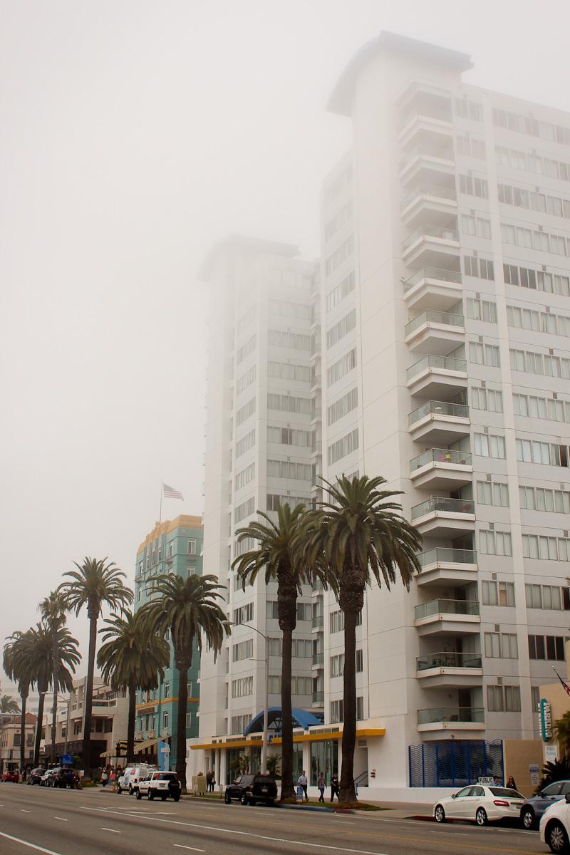 Santa Monica dans le brouillard, Los Angeles