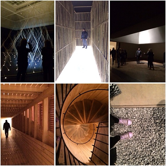Inspiring, beautiful, and stunning experiences at the Royal Academy's #SensingSpaces exhibit.