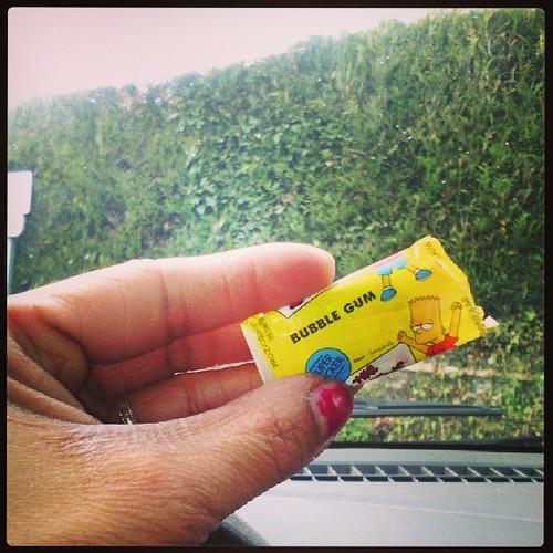 Les meilleurs bubble gum au monde #simpsons #leaderprice #ourlittlefamily #france