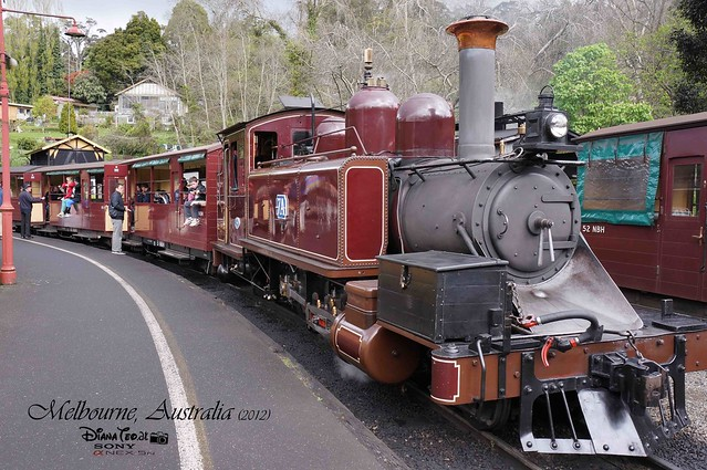 Day 2 Melbourne, Australia - Puffing Billy 07