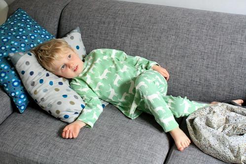 nieuwe pyjama