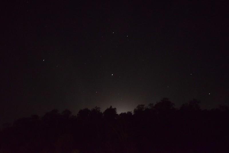 夜は全く明かりが無いので星が綺麗
