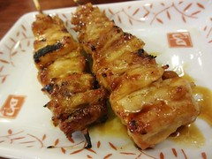 Chicken Neck on Skewer @Yakitori Daikichi, Guyang…