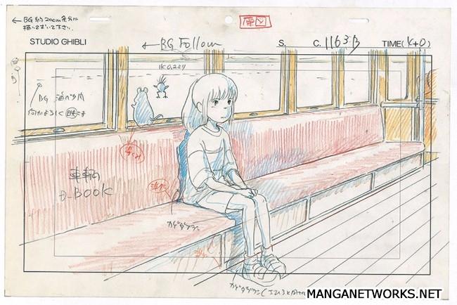 32306768833 d98c38d986 o 16 Storyboards của Studio Ghibli sẽ khiến bạn muốn xem lại Movie ngay lập tức !!